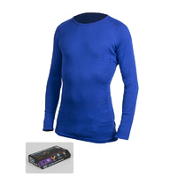 360 PolyPro Active Thermal Long Sleeve Top / Royal Blue