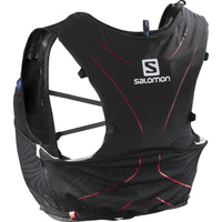 Salomon Advanced Skin 5 Set / Black / Matador Red