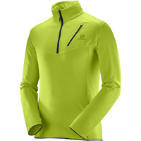 Salomon Discovery Half Zip Fleece / Acid Lime / Mens