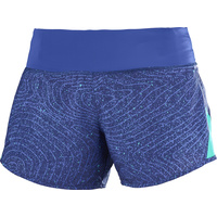Salomon Elevate 2in1 Short Womens / Medieval Blue