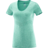 Salomon Elevate Seamless T-Shirt Womens / Dynasty Green