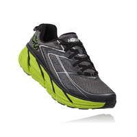 Hoka One One Clifton 3 - Mens  / Blue Graphite / Bright Green
