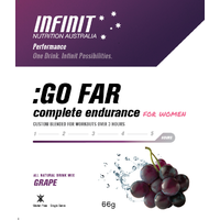 Infinit Nutrition Go Far For Women