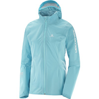 Salomon Lightning Pro Waterproof Jacket / Blue Curacao / Womens