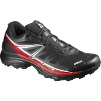 Salomon S-Lab Wings Soft Ground / UK 8.5 / Black/ Racing Red / White