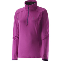 Salomon Discovery Half Zip / X Small / Aster Purple / Womens