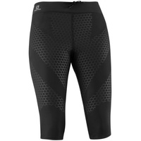Salomon Exo 3/4 Tight - Womens / Black / XS