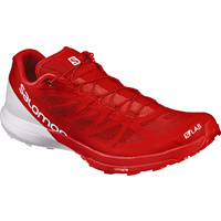 Salomon S-lab Sense 6 / Racing Red / White
