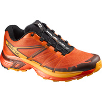 Salomon Wings Pro 2 / UK 8.5 / Tomato Red / Clementine-X / Yellow Gold / Mens