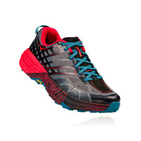 Hoka Speedgoat 2 / Black / True Red / Mens