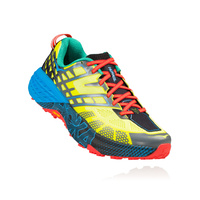 Hoka Speedgoat 2 / Citrus / Dresden Blue / Mens