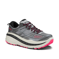 Hoka One One Stinson 3 ATR - Womens / Grey / Pink