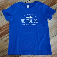 The Trail Co Kids T-Shirt / Blue