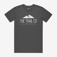 The Trail Co. Tri-blend Tee / Asphalt / Mens