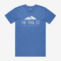 The Trail Co. Tri-blend Tee / Vintage Blue / Mens
