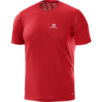 Salomon Trail Runner Tee / Barbados Cherry / Mens