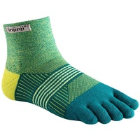 Injinji Womens Trail 2.0 / Mini-Crew Length / Midweight / Parakeet