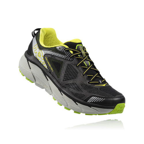 Hoka Challenger Black / Bright Green / Citrus  Mens / Black/Bright Green/Citrus / USM 10.5