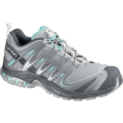 Salomon XA Pro 3D Womens / Light Onix / Igloo Blue / UK 5
