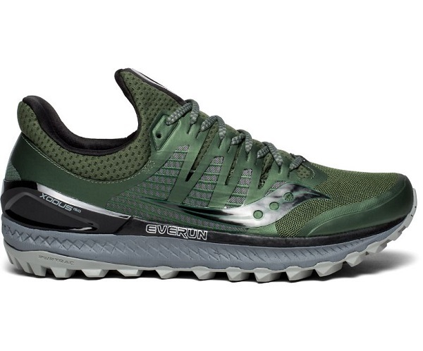 saucony trail olive