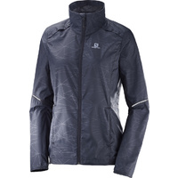 Salomon Agile Wind Jacket | Graphite | Womens
