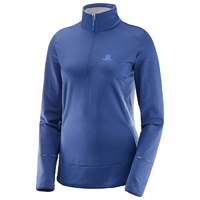 Salomon Discovery Half Zip | Medieval Blue | Womens