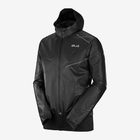 Salomon S/Lab Motionfit 360 Waterproof Jacket | Shake-Dry | Black | Mens
