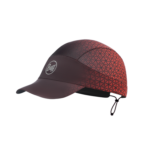 Buff Pack Run Cap | R-Equilateral Red