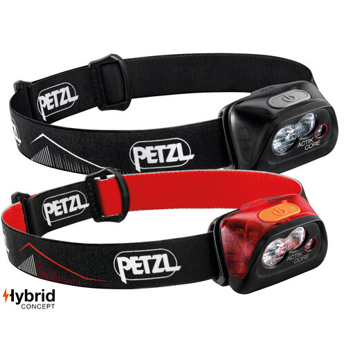 Petzl Actik Core | 450 Lumens Headlight | Two Colours