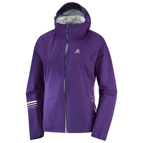 Salomon Lightning Waterproof Jacket | Parachute Purple | Womens | Medium